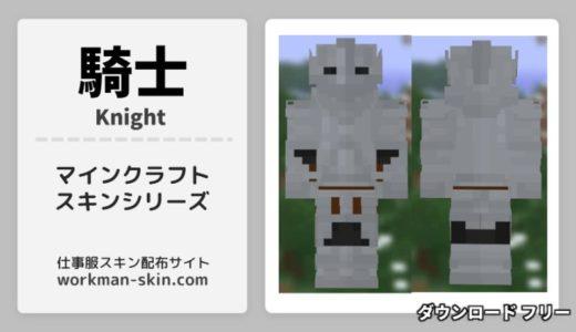 【マインクラフト】騎士のオリジナルスキン