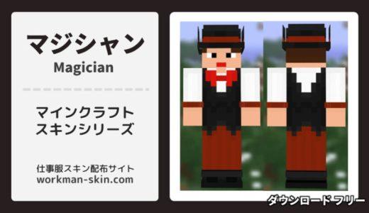 【マインクラフト】マジシャン(手品師)のオリジナルスキン